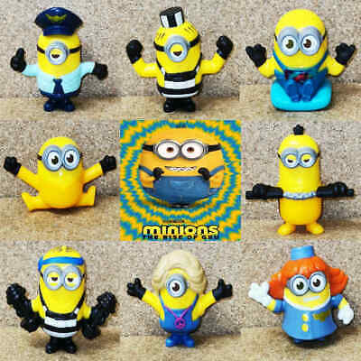 McDonalds Happy Meal Toy UK 2020 Minions Rise Of Gru Figures Toys - Various • 3.25£