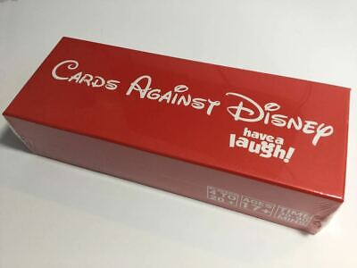 Cards Against Disney Red Box Edition Adult Party Card Game UK SELLER • 20.99£