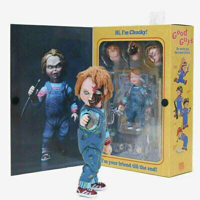 Horror Doll NECA Scary Chucky Figure Toys Horror Movies Child's Play Bride Toy • 16.98£