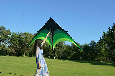 Opera Delta Kite Large Kite For Adults Outdoor Sports E2U3 Wind Family Fun  UK • 5.22£