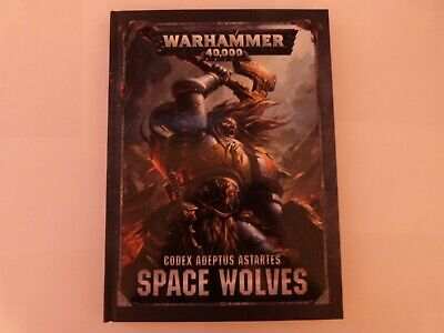 Warhammer 40,000 - Codex Adeptus Astartes - Space Wolves • 7.50£