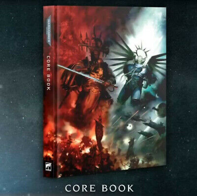 Warhammer 40K - Indomitus - 9th Edition Core Rulebook - Limited Edition Hardback • 19.95£
