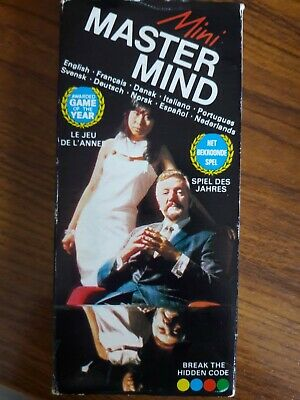BRAND NEW Vintage Mini Mastermind Game (1972) By Invicta 2 Player • 5.30£