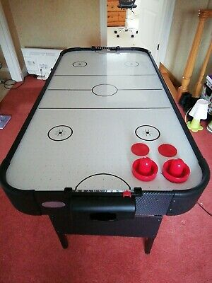 Gamesson Shark Unisex Air Hockey Table 4ft Black And White • 55£