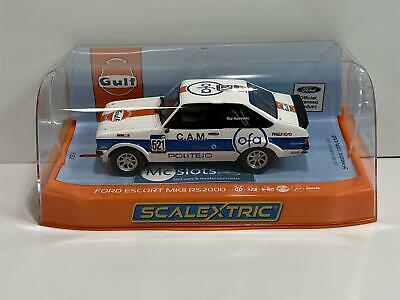 Scalextric C4150 Ford Escort MK2 RS2000 GULF Edition New Boxed • 45.99£