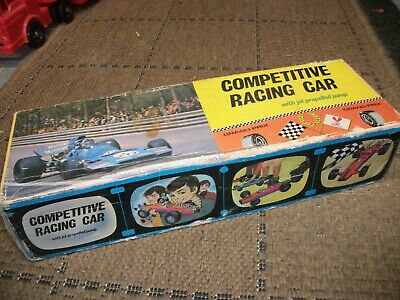 Vintage Jet Propelled Competetive Racing Car - Boxed Complete Gwo • 24.99£