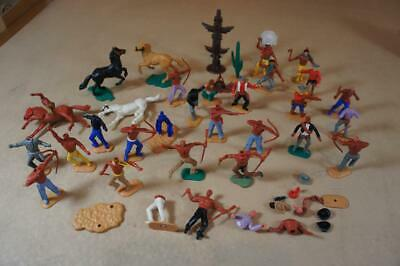Vintage Britains Deetail 18 X Assorted Figures - 5 Mounted • 25£