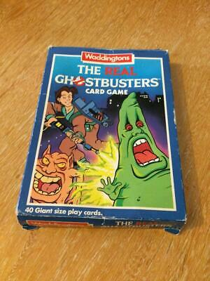 The Real Ghostbusters Card Game By Waddingtons Vintage 1989 • 9.99£