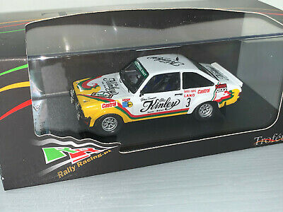 RALLY 1/43 TROFEU FORD ESCORT RS1800 KINLEY STAEPELAERE YPRES 1978 2nd OA 1/150 • 18£