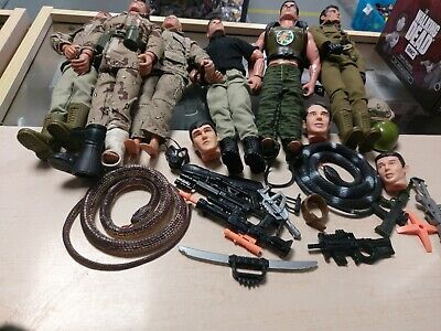 Action Man GI Joe Figure Bundle • 34.99£