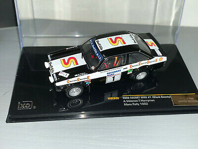 Rally 1/43 Ixo Ford Escort Rs1800 Limited Edition Manx International Vatanen  • 21£