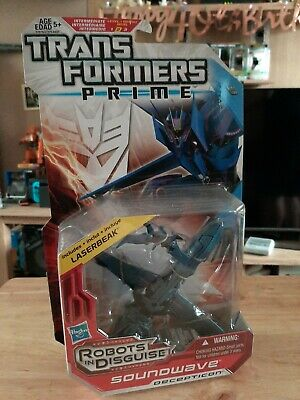 Transformers Prime Soundwave And Laserbeak Boxed RID Robots In Disguise  • 29.88£
