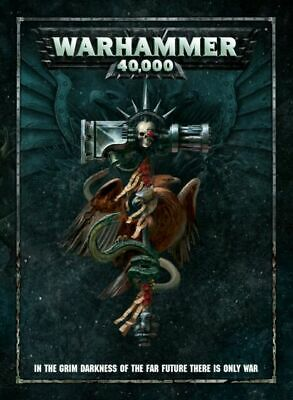 Games Workshop Warhammer 40K 40000 Rulebook 8th Edition Hardback New • 9.95£