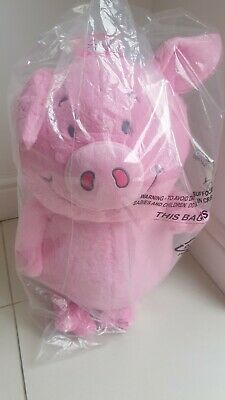 Percy Pig Toy Marks & Spencer Teddy BNWT 60cm With FREE GIFT  Christmas Present • 35£
