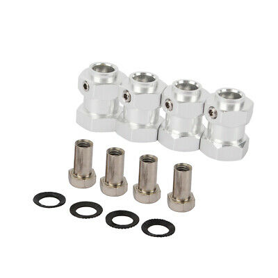 RC 15mm Thick 12mm Alloy Hex Wheel Hubs For Traxxas TRX-4 Defender Ford TRX6  • 0.99£