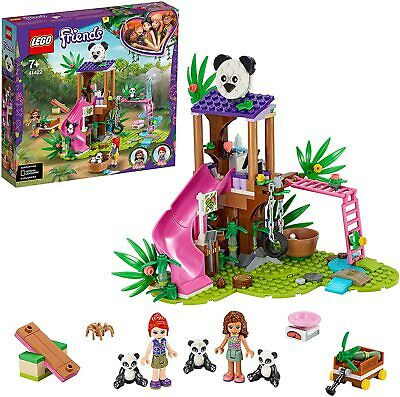 LEGO 41422 Friends Panda Jungle Tree House Base Rescue Play Building Toy Playset • 27.99£