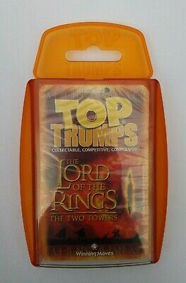 Lord Of The Rings The Two Towers Top Trumps Card Game Brand New Sealed • 5.90£