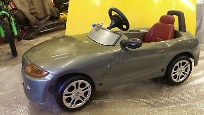 Kids Bmw Z4 Pedal Car Was Ava Only For Bmw Customers Nice Rare • 85£