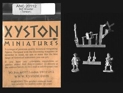 Xyston 15mm Ancients ANC20112 Light Bolt Shooter & Crew (1) • 3£