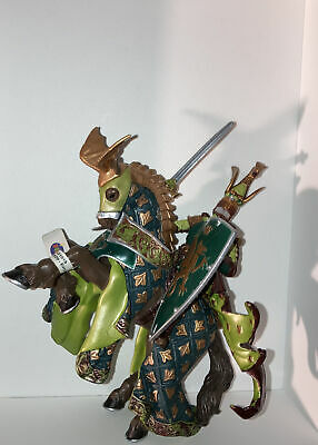 Papo 39923 The Medieval Era, Multicolor Knight & Horse New 2007 Unused With Tags • 16.99£