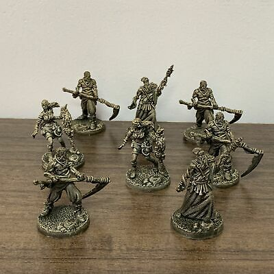 Lot Of 8Pcs Hero Dungeons & Dragon Miniatures Role Playing Game Figure DND Toy • 6.99£