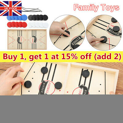 Child Fast Sling Puck Game Paced SlingPuck Winner Board Games Family Games Gift. • 17.63£