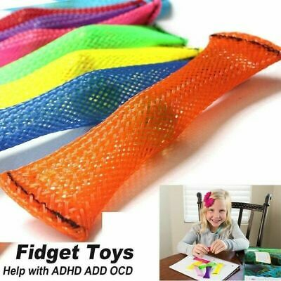 Mesh & Marble Fidget Toy Stress/Anxiety Relief Adults Kids Toys Soothing Sensory • 1.99£