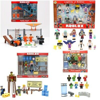 Kids Roblox Figures Robot Riot Mix&Match Playset Collection PVC Toy Doll Pack UK • 14.49£