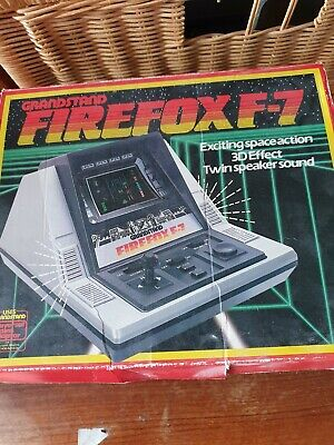 Vintage Handheld Electronic Game, Firefox F7, Boxed, Instructions, Grandstand  • 7.50£