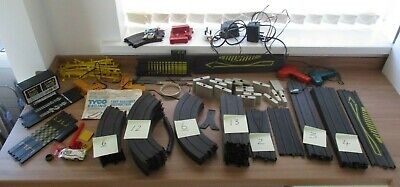 Large Collection Of Tyco Car Racing Track , Cars And Accessories • 60£