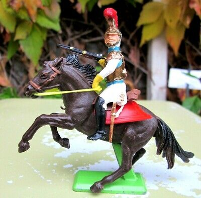Britains Deetail Mounted Napoleonic - Waterloo French Carabinero • 15£