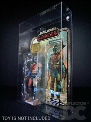 DEFLECTOR DC® DISPLAY CASE: Star Wars The Mandalorian Credit Collection Figure • 7£