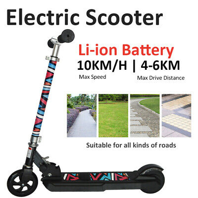 2020 Latest Lithium Li-ion Battery Kids Electric Scooter Ride On E-Scooter • 89.99£