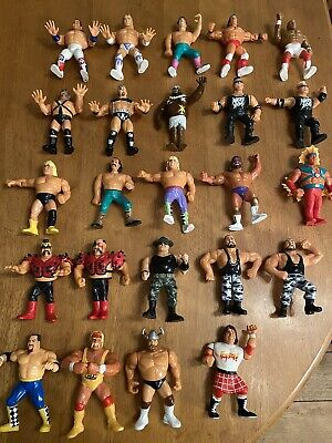 Collection Of Vintage 80s & 90s Hasbro WWF Figures • 99£