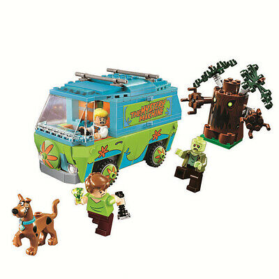 Scooby Doo Mystery Machine Bus Building Block 305Pcs 10430 Kids Toy Gift Xmas • 20.99£