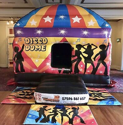 Disco Dome Bouncy Castle With Lights And Speaker • 1,200£
