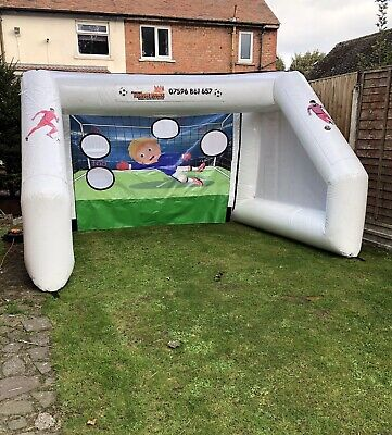 Inflatable Penalty Shoot Out (balls Included) • 500£