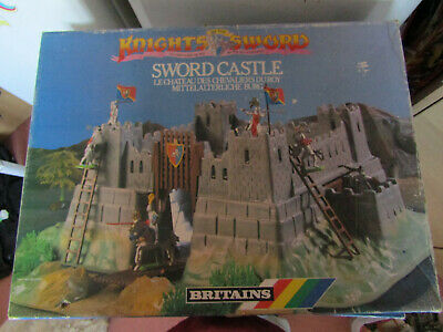 Britains Knights Of The Sword - Sword Castle With Figures  • 19.95£