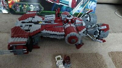 Lego Star Wars 75025 Jedi Defender-class Cruiser, Complete, Boxed With Minifigs • 100£