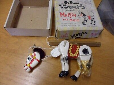 Pelham Puppet Muffin The Mule Vintage Puppet Good Box Condition Issue • 19.05£