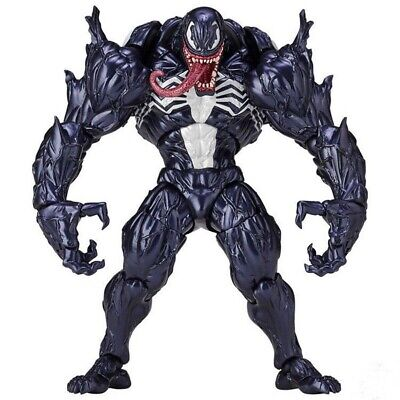 Marvel Spider-Man Venom Revoltech Series PVC Action Figure Model Collection Toy • 16.98£