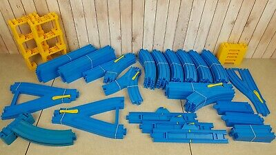 Tomy Tomika Trackmaster Track Large Bundle Of Thomas & Friends Blue 80+ Pieces • 39.95£