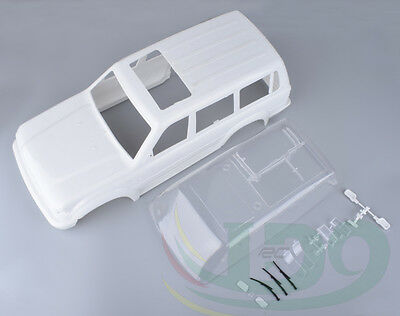 RC Land Cruiser LC80 Hard Plastic 313mm Wheelbase Body Shell For Axial SCX10 • 93.05£