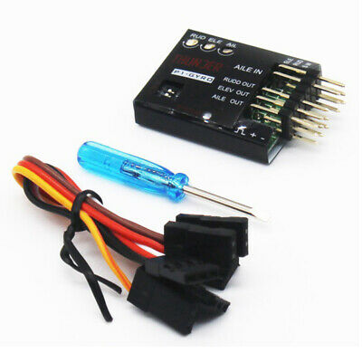 Airplane Parts 3.5-6V P1-GYRO 3-Axis Flight Controller Stabilizer System Gyro • 11.96£