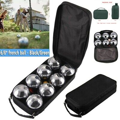 French Ball Stainless Steel Boules Set Petanque Outdoor Carry Case Garden Game • 17.98£