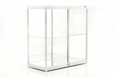 Triple 9 T9-187820w 1/18 Double Led Display Case Mirror Back And Base White • 44.87£