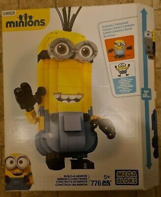 New Mega Bloks Minions Build-A-Minion. 776 PCS. Excellent Bargain For Christmas • 7.50£