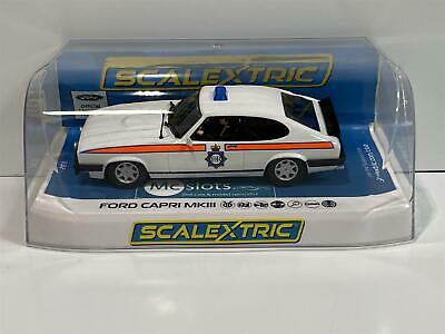 Scalextric C4153 Ford Capri MK3 Greater Manchester Police Car New Boxed • 43.99£