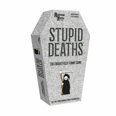 University Games 'Stupid Deaths' Card Game • 10.90£