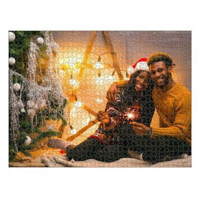 Personalised Jigsaw Puzzle 768 Piece Full Colour Printed Large Custom Photo Gift • 16.49£
